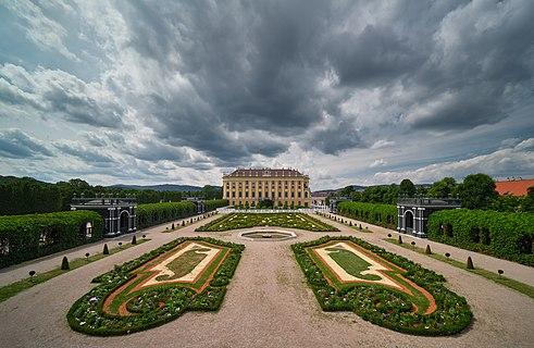 Crown Prince Garden, Schönbrunn Palace, Vienna, Austria