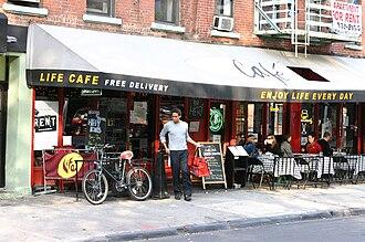 Rent (musical) - Life Café