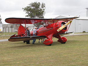 Waco YMF at Serpentine Airfield in October 2011.jpg