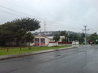 Waitakere, Auckland - The fire station in Waitakere, near Waitakere Train Station.