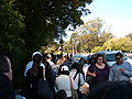 Waiting to get into CAS 2009-04-14 2.JPG