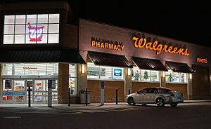 Walgreens - A Walgreens on Rt.1 South, Saugus, Massachusetts.