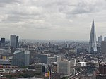 Walkie-Talkie and Shard from the London Eye, August 2014.JPG