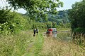Walkies along the towpath - geograph.org.uk - 1373467.jpg
