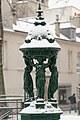 Wallace fountain Place des Patriarches under snow 2013-03-12.jpg