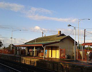 Wallan railway station