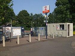 Walthamstow Queens Road stn entrance.JPG