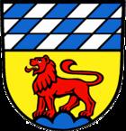 Das Wappen von Löwenstein