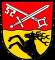 Wappen von Oberschwarzach.png