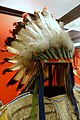 War bonnet of Chief Red Shirt, Oglala Lakota - Native American collection - Peabody Museum, Harvard University - DSC06018.jpg