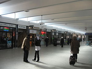 Warden station - Entrances to the bus platforms