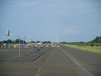 Naval Air Warfare Center Warminster - The former runway of Naval Air Warfare Center Warminster is now part of Warminster Community Park and contains basketball courts and a children's area called Safety Town