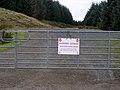 Warning Sign at Gilkercleuch - geograph.org.uk - 342342.jpg