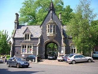 Warstone Lane Cemetery - Entrance lodge