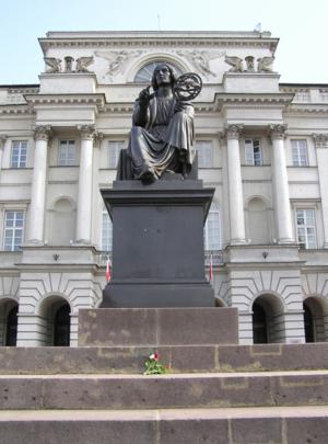 Monument to Kopernik by Bertel Thorvaldsen