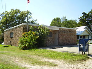 Washington-on-the-Brazos, Texas - U.S. Post Office in Washington-on-the- Brazos