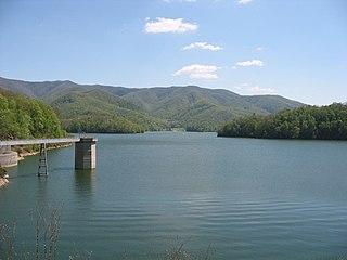 Watauga Lake lake in the United States of America
