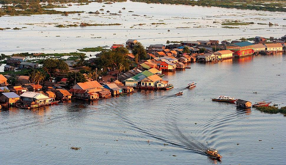 Water Dwelling Tonle Sap Cambodia