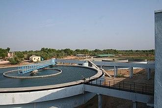 Kadi, India - Image: Water Purification Plant near Kadi