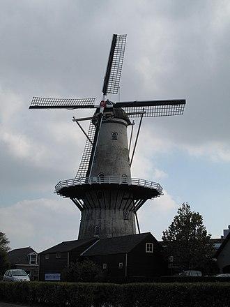Wateringen - Image: Wateringen, molen de Windlust foto 2 2009 09 27 12.43