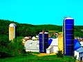 Weber Farm with Two Harvestore® Silos - panoramio.jpg
