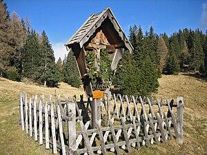 Wayside cross - Image: Wegkreuz Salten South Tyrol