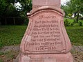 Wegkreuz Fessenbach Inschrift DSCN1964.jpg