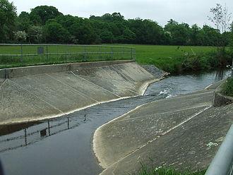 River Box - Polstead measurement flume