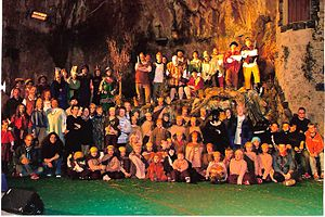 Balve Cave - Ensemble Balver Märchenwochen in 2004