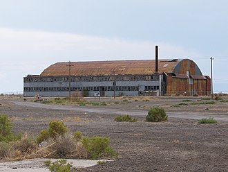Wendover, Utah - Hangar of the Enola Gay on the former Wendover Army Air Field