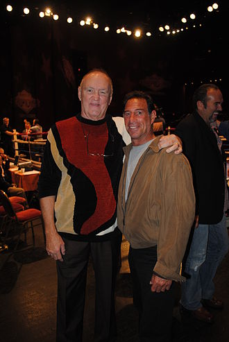 Chuck Wepner - Wepner (left) and former light heavyweight champion Mike Rossman in 2012