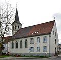 Werl, denkmalgeschütztes Gebäude, ehemalige Evgl. Johannes-Kirche, Steinerstraße.JPG
