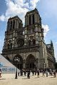 West facade of Notre-Dame de Paris, 13 August 2013.jpg