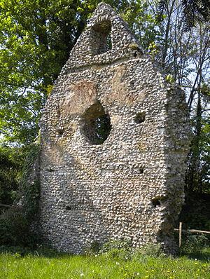 Westhumble - Westhumble Chapel Ruins West Gable