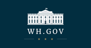 official webpage of the White House