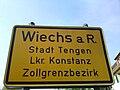 Wiechs am Randen - Zollgrenzbezirk I.JPG
