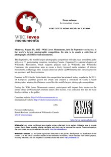 Wiki Loves Monuments Canada - Press release.pdf