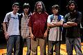 Wikimania 2009 - Richard Stallman en el teatro Alvear con asistentes (10).jpg