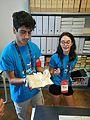 Wikimania 2016 Deryck day 2 - 05 volunteers at Pensa archive.jpg