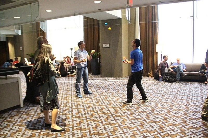 File:Wikimania 2017 - Doc James juggling7521.jpg
