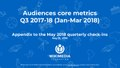 Wikimedia Foundation Audiences metrics Q3 2017-18 (Jan-Mar 2018).pdf