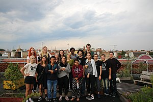 Wikipedia for Peace 2017 Berlin Sharehouse Refugio group picture 01.jpg