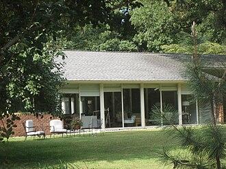 Wilbur and Martha Carter House - Wilbur and Martha Carter House, September 2012