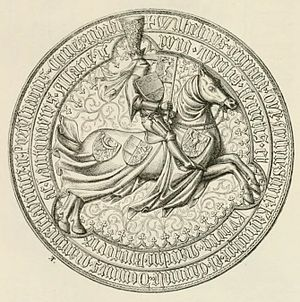 William, Duke of Austria - Seal of William of Austria