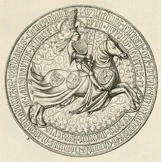 William, Duke of Austria - Seal of William of Austria