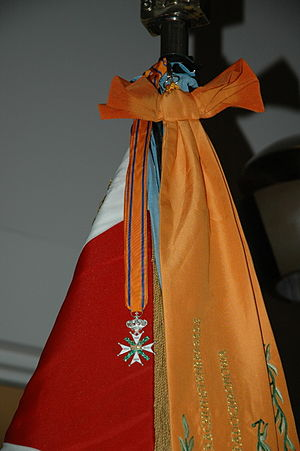 Military Order of William - Military William Order awarded to the Polish 1st Independent Parachute Brigade, 31 May 2006