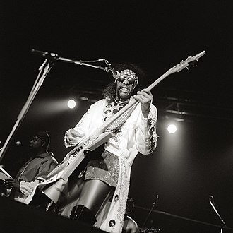 Bootsy Collins - 1998 Cologne/Germany
