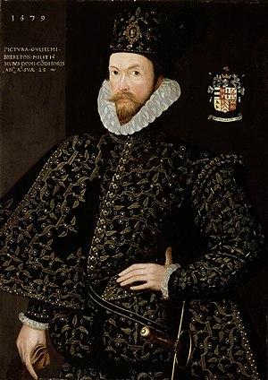 William Brereton, 1st Baron Brereton - William Brereton, 1st Baron Brereton, aged 28, 1579.