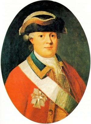 William Halling - Portrait of William Halling from the 1790s