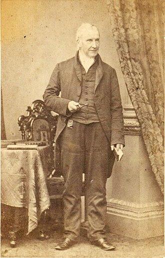 William Miller (engraver) - Photograph of William Miller in circa 1862